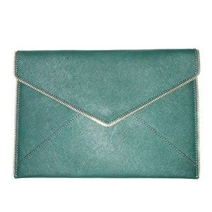 Rebecca Minkoff Leo Saffiano Leather Clutch
